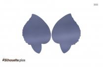 Heart Clip Art Earrings Silhouette