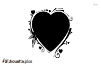 Heart Design Art Silhouette Image