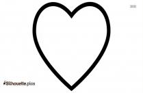Heart Glitter Silhouette