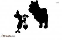 Pony Pooh Silhouette Clipart, Winnie The Pooh Cartoon Image