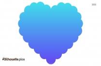 Heart Silhouette Free Vector Art