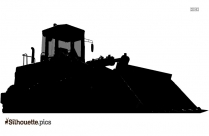 Heavy Equipment Operator Silhouette