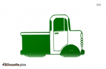 Dump Truck Silhouette Clipart For Free