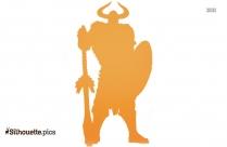 Heimdall Marvel Silhouette Clipart