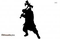 Black Heimdall Marvel Silhouette Image