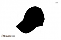 Winter Cap Silhouette Drawing