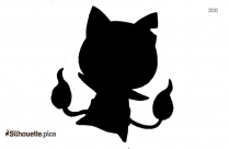 Tom And Jerry Spike Silhouette Image And Vector