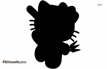 Hello Kitty Cat Silhouette