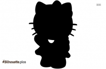 Hello Kitty Silhouette Svg