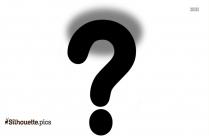 Help Clip Art Icon Silhouette