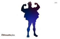 Hercules Drawing Silhouette