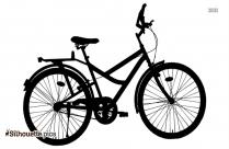 Enduro Mountain Bike Silhouette