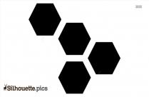 Hexagons Silhouette