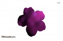 Delphinium Silhouette Free Vector Art