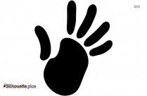 High Five Silhouette Vector And Graphics