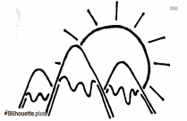 Mountain Clipart Silhouette Clip Art