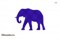 Hindu Elephant God Silhouette Clip Art
