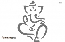 Lord Ganesh Drawings Silhouette Illustration