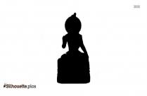 God Sri Ganesh Silhouette