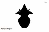 Buddist Clipart Silhouette Black And White