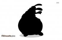 Hippo Dance Silhouette