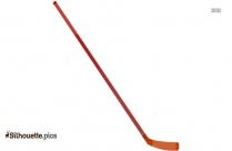 Hockey Stick Vector Silhouette