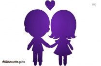Holding Hands Love Silhouette Image And Vector