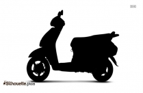 Honda Scooter Silhouette And Graphics