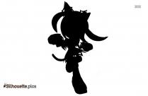Chimera Warrior Silhouette Background