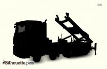 Hooklift Truck Silhouette