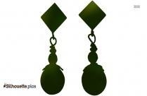 Chick Earrings Silhouette Image And Vector