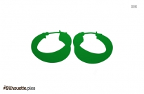 Hoop Earrings Silhouette Free Vector Download