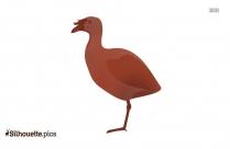 Cartoon Stork Clipart Silhouette Image