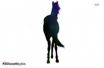 Horse Ride Silhouette Illustration