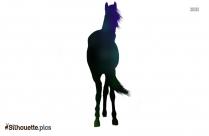 Horse Ride Silhouette Illustration