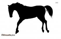Animal Jumping Silhouette