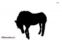 Free Horse Head Silhouette Image