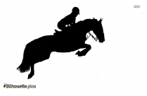 Horse Riding Silhouette For Download