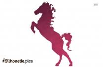 Cartoon Dog Silhouette Clip Art Image