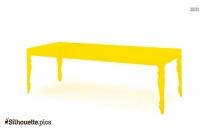 Table Silhouette, Clip Art
