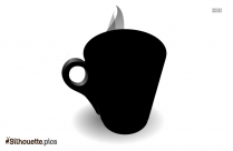Hot Coffee Mug Silhouette