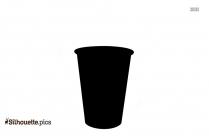 Coffee Mug Silhouette Vector