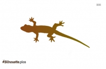 Lizard Silhouette Art