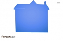 House Silhouette Free Vector Art