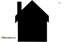 Longhouse Vector Image Silhouette