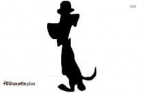Huckleberry Hound Pooh Adventures Silhouette