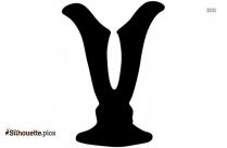 Vase Symbol Silhouette