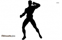 Classic Marvel Superhero Silhouette