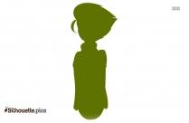 Black Pokemon Latias Silhouette Image