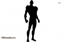 Human Ultron Cartoon Character Silhouette
